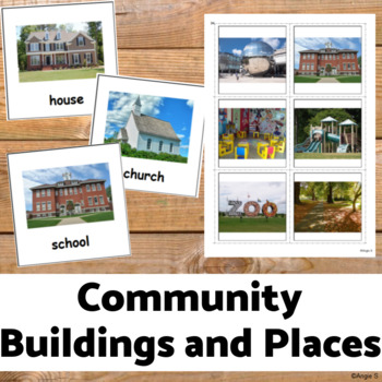 Community Buildings and Places