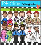 Community Helpers Set #1 (P4 Clips Trioriginals Clip Art)