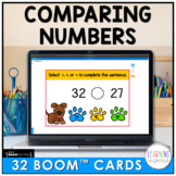 Comparing Two-Digit Numbers Boom™ Cards