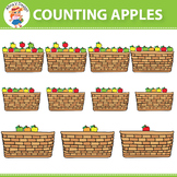 Counting Apples Clipart