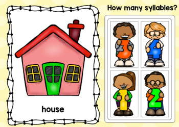 Counting Syllables Digital Boom Cards