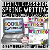 Digital Spring Writing Prompts 3rd Grade, 4th Grade, 2nd G