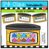 Dough 10 Frames (P4 Clips Trioriginals Clip Art)