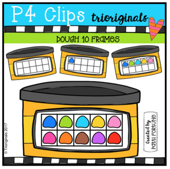 Dough 10 Frames (P4 Clips Trioriginals Clip Art)