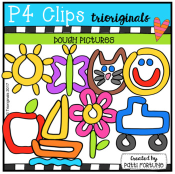 Dough Pictures (P4 Clips Trioriginals Clip Art)