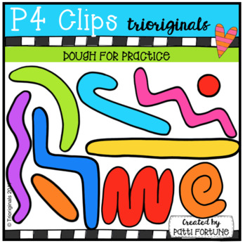 Dough Skills Practice (P4 Clips TrioriginalsClip Art)