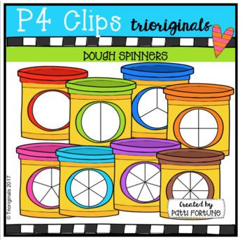 Dough Spinners (P4 Clips Trioriginals Clip Art)
