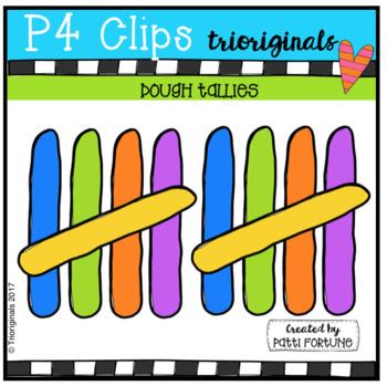 Dough Tallies (P4 Clips Trioriginals Clip Art)