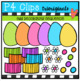 Easter Egg Decorating Sequence (P4 Clips Trioriginals Clip Art)
