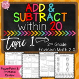 Envision Math 2.0 Topic 1 Review Add & Subtract to 20