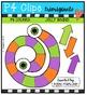 Eyeball Spinners (P4 Clips Trioriginals Digital Clip Art)