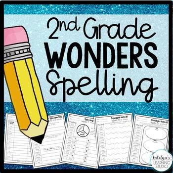 2nd Grade Wonders Spelling Worksheets