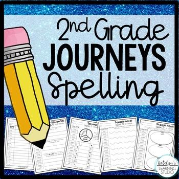 2nd Grade Journeys Spelling Worksheets