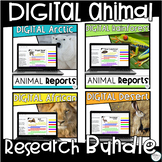 Distance Learning Google Classroom Animal Research Project