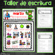 Spanish March Writing Prompts and Word Work