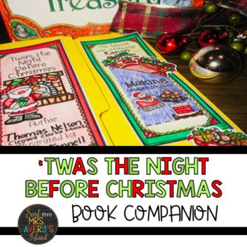 twas the night before christmas book companion and lapbook - Night Before Christmas Book