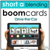 Distance Learning Boom Cards Short a