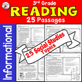 Reading Comprehension Passages and Questions 3rd Grade