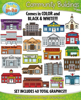 Community Buildings Clipart | www.pixshark.com - Images ...