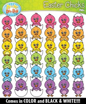 Easter Chicks Clipart Set {Zip-A-Dee-Doo-Dah Designs}