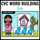 Birds Themed CVC Word Building Pack