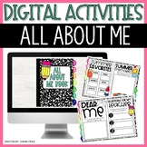 All About Me Book for Google Slides