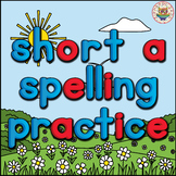 CVC Short A Spelling Practice PowerPoint Game