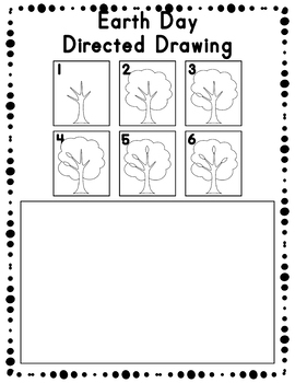 Earth Day Directed Drawing Activity for Including Art in any Subject