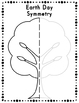 Earth Day Symmetry Drawing Activity for Art and Math