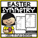 Easter Symmetry Activity Worksheets