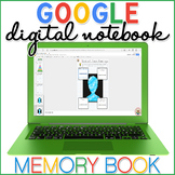 End of Year Memory Book Digital Interactive Notebook