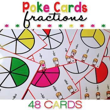 Fraction Review Poke Cards