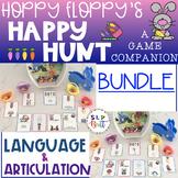 HOPPY FLOPPY'S HAPPY HUNT, BUNDLE (ARTICULATION & LANGUAGE) SPRING, EASTER