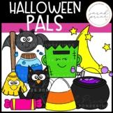 Halloween Pals Clipart Pack