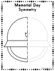Memorial Day Symmetry Drawing Activity for Art and Math