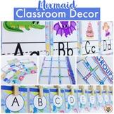 Mermaid Classroom Decor Pack EDITABLE