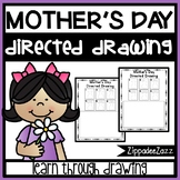 Mother's Day Directed Drawing Activity for Including Art in any Subject