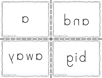 Pre-Primer Dolch Sight Words Mirror Cards
