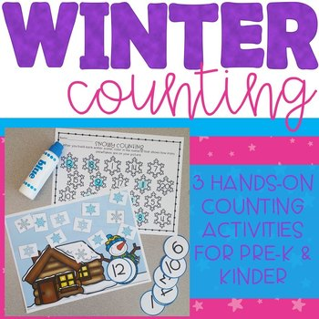 Winter Counting Center Activity