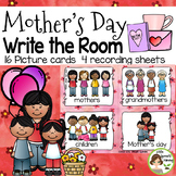 Mother's Day Write the Room -16 cards four versions, four recording sheets