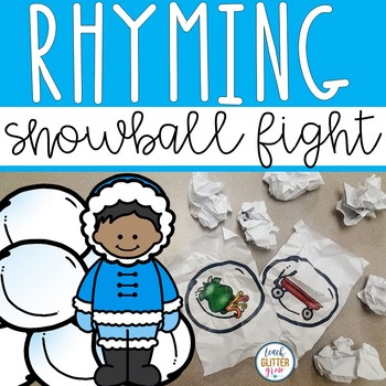 Rhyming Snowball Fight  Activity