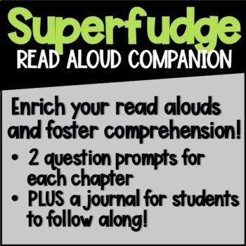 Superfudge Read Aloud Companion