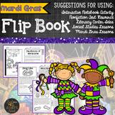 Mardi Gras Nonfiction Text Flip Book