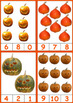 Fall Clip Cards - Count the Pumpkins