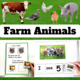 Farm Animals Special Education and Autism Resources