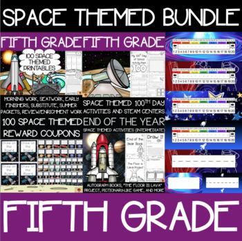 Fifth Grade Space Supplies Bundle