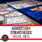 Addition Strategies and Visual Aid Posters