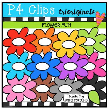 Flower FUN (P4 Clips Trioriginals Clip Art)