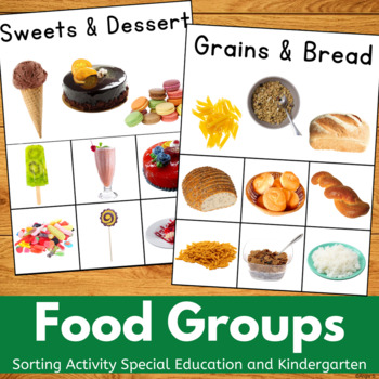 Food Sorting Activity for Autism and Special Ed