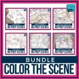 No Prep Speech Therapy Scenes Bundle